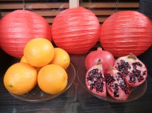 Oranges & Pomegranates for Chinese New Year (2013)