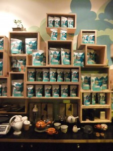 Extensive range of tea at Storm in a Tea Cup
