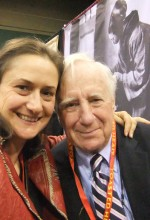 Effie Gidakos, our CEO, with John Harney, founder of Harney & Sons